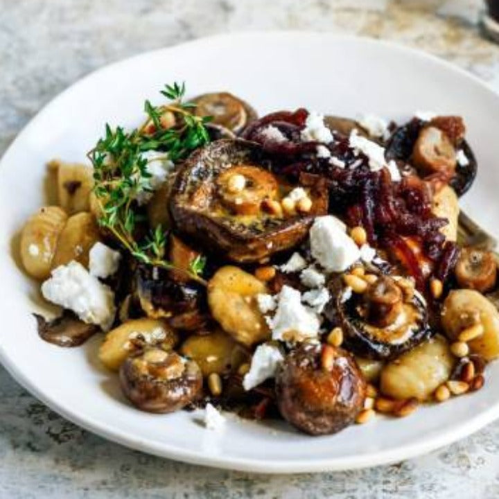 Valentines Gnocchi with Mushrooms & Goat Cheese Supper - Friday 2/12