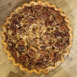 Brown Butter Brandy Pecan Pie
