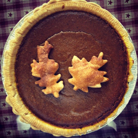 Old Fashioned Spiced Pumpkin Pie
