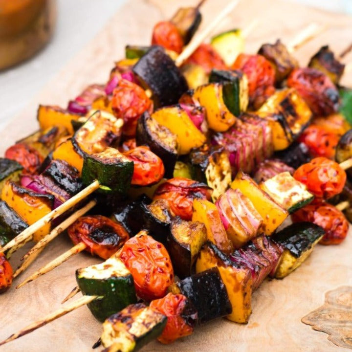 Glazed Vegetable Skewer Dinner - Friday 5/14