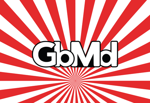 GbMd Sticker<br> City of Gaithersburg, Md<br> White