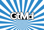 GtMd Sticker<br> City of Germantown, Md<br> White