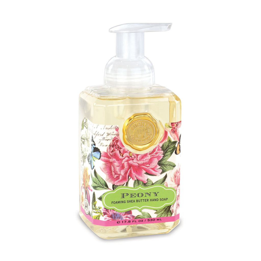 Peony Foaming Hand Soap + Candle