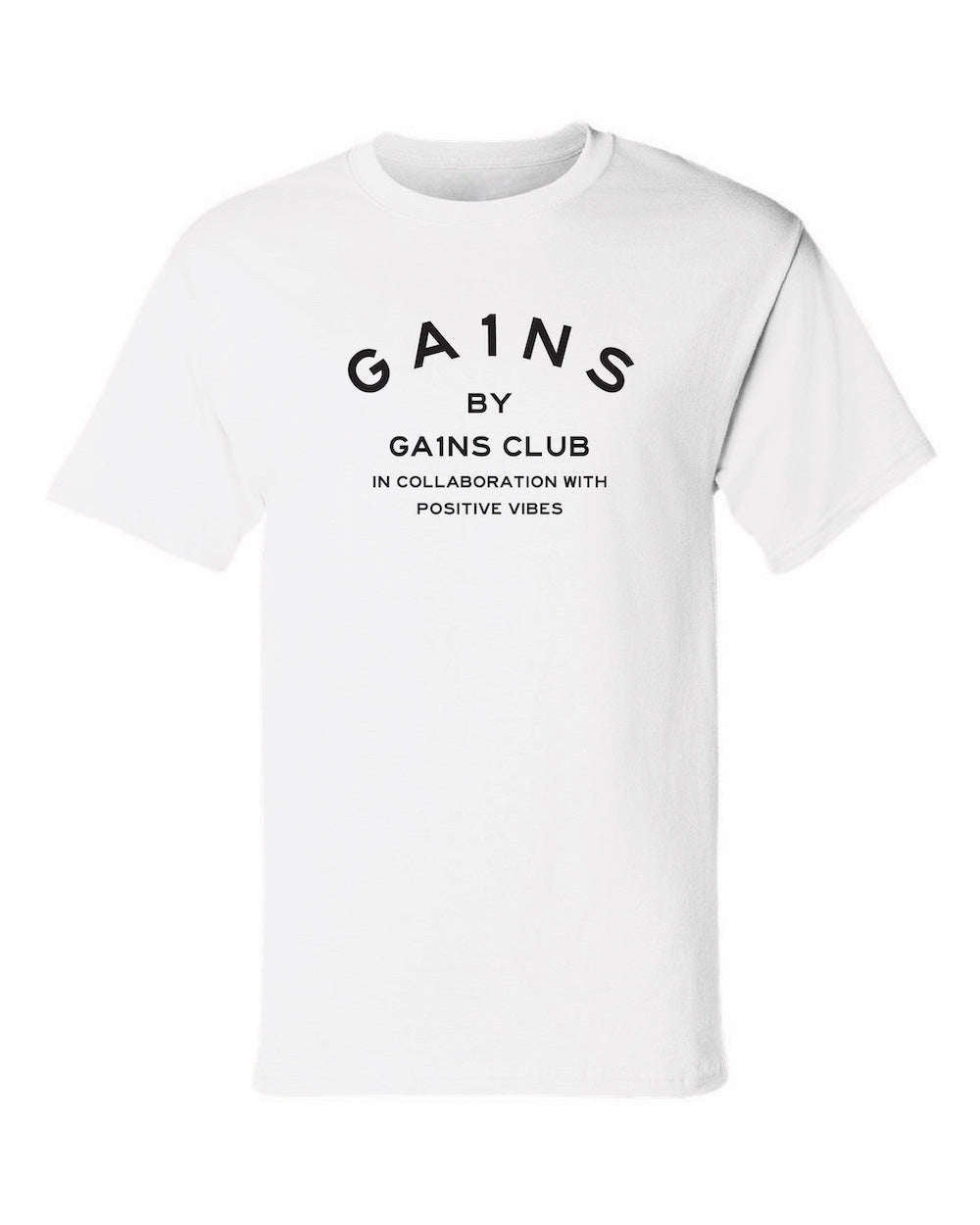 White MJ GA1NS Tee (Heavyweight)