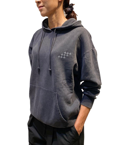 Women's Diamond Cross Hoody Sweatshirt