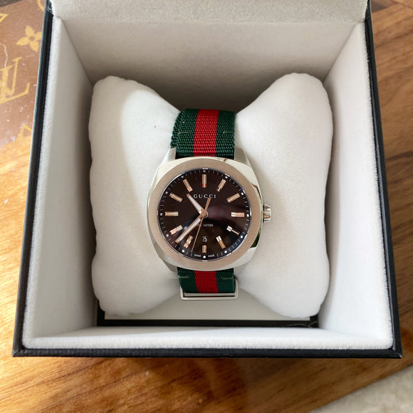 MENS GUCCI FABRIC WATCH