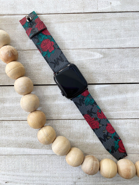 Authentic Repurposed Michael Kors Rose Apple Or Samsung Watch Bands