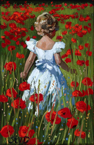 Walking Amongst the Poppies