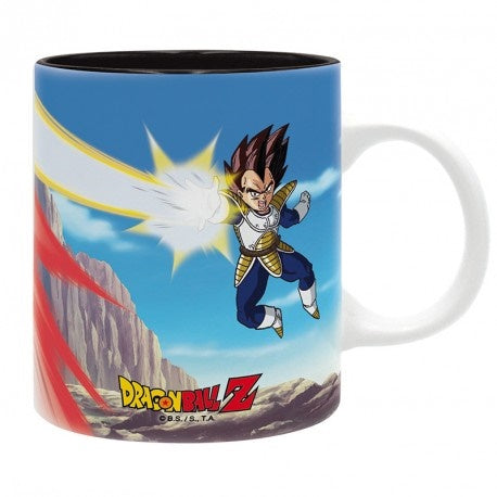 Taza Dragon Ball Vegeta vs Goku