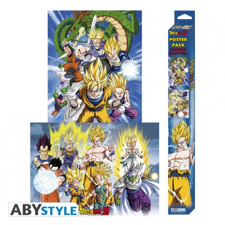 Set 2 Chibi Posters Dragon Ball Z
