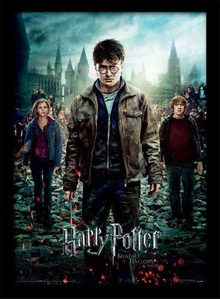 Maxi Póster Deathly Hallows Part 2 - Harry Potter