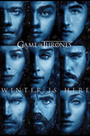 Póster plastificado Juego de Tronos - Winter Is Here