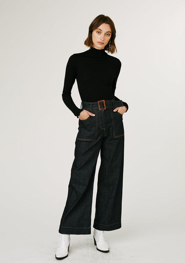 Olivia Trousers - Denim
