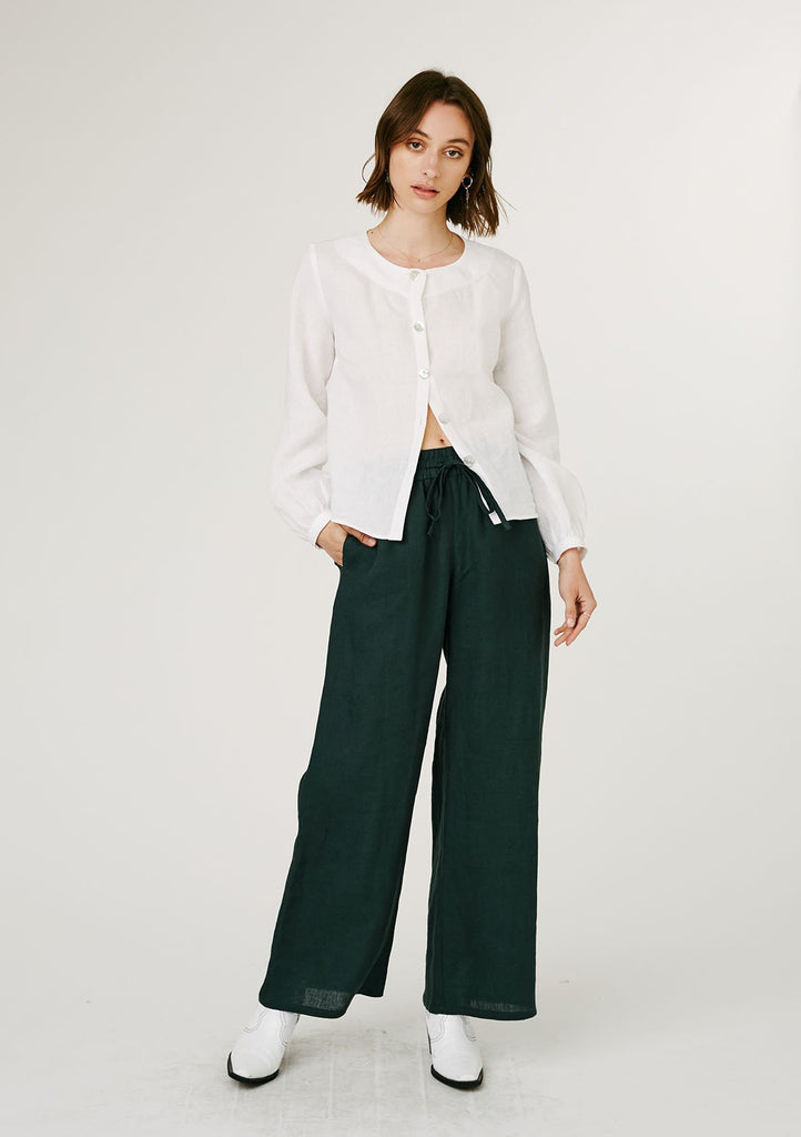 Lounge Trousers - Forest Green