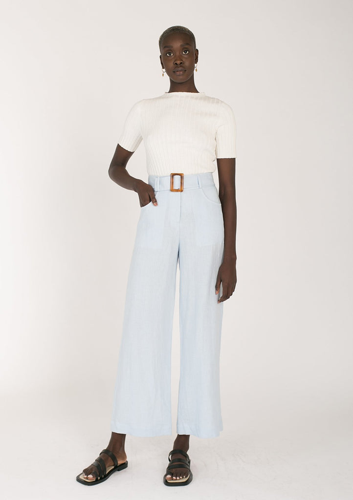 Olivia Trousers - Powder Blue
