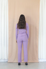 Rib Turtleneck - Lavender