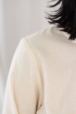 Beverly Blouse - Raw Silk