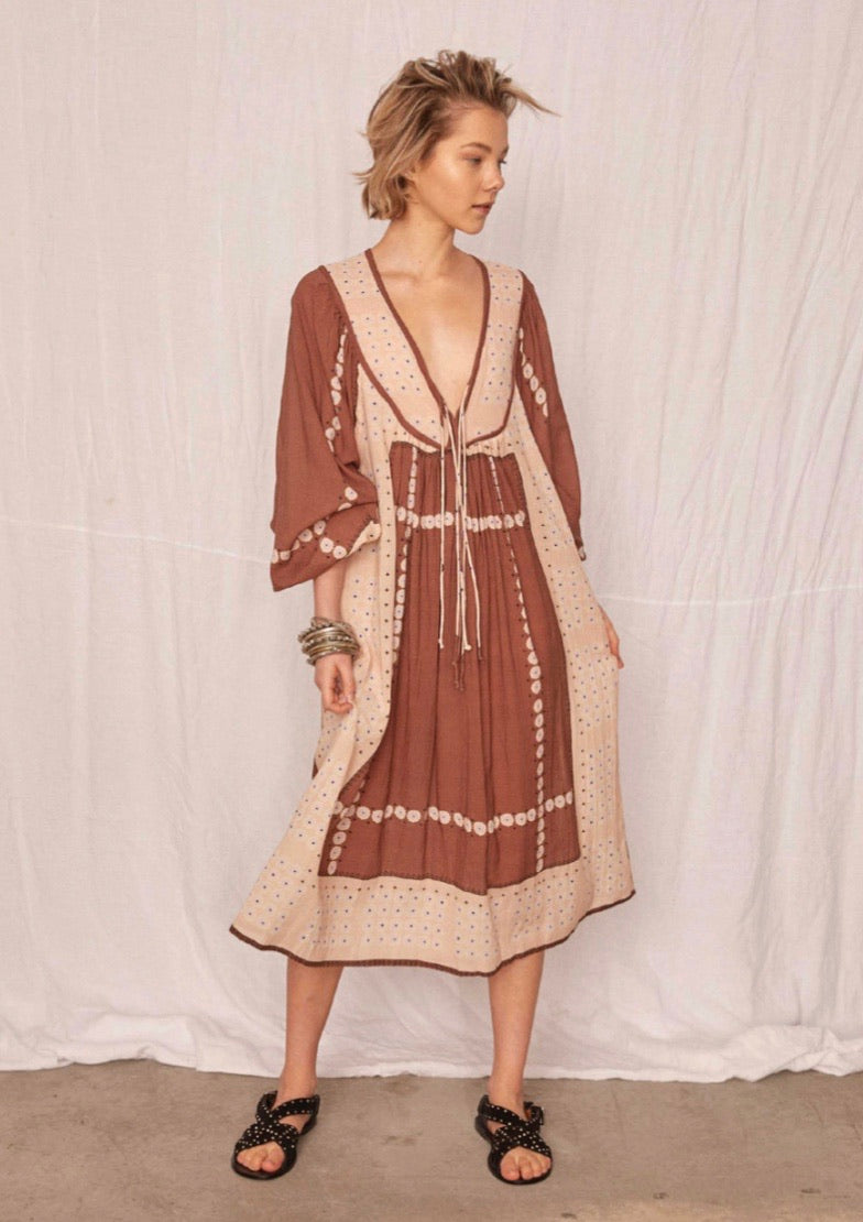 Marrakech Cinnamon Dress