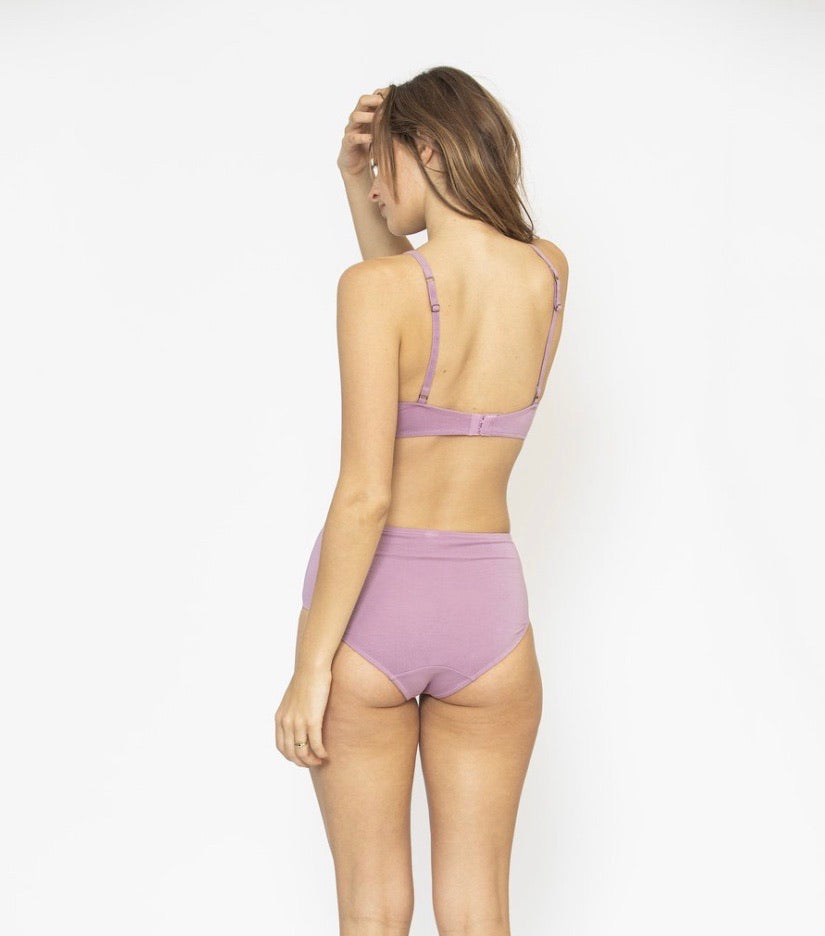 Mid Rise Brief - Lilac