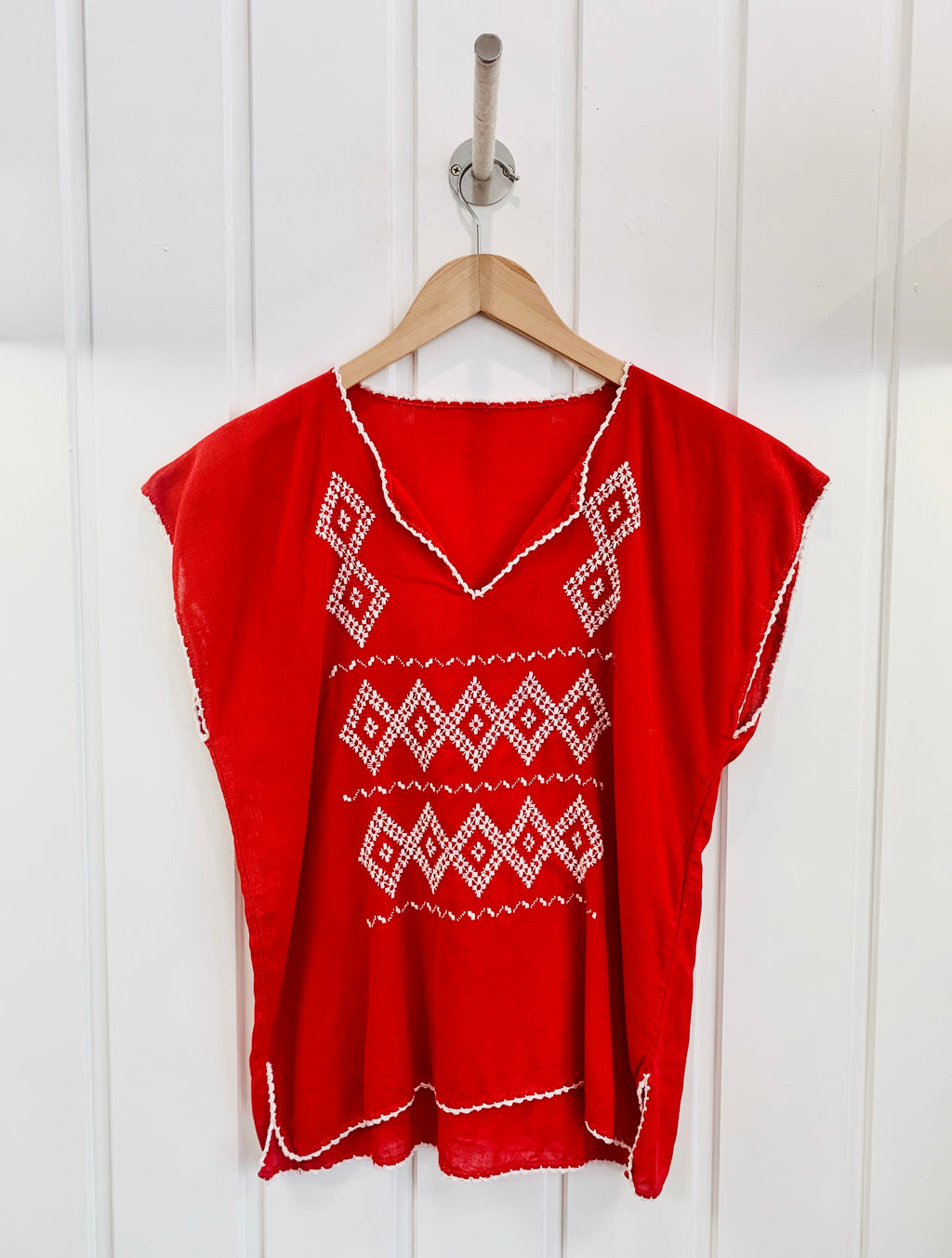 1970's Handmade Mexican Vintage Top