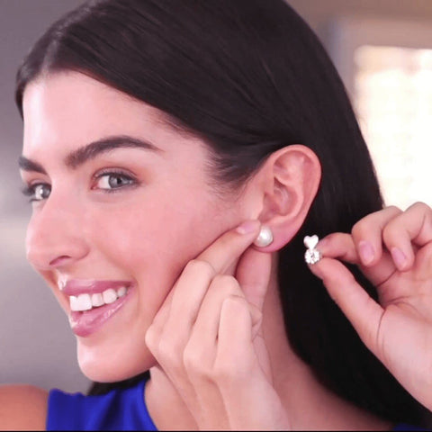 WonderBacks® - Earring Lifters for Stretched Earlobes