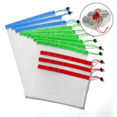 EcoBag® - Reusable & Washable Bags (12 pcs)