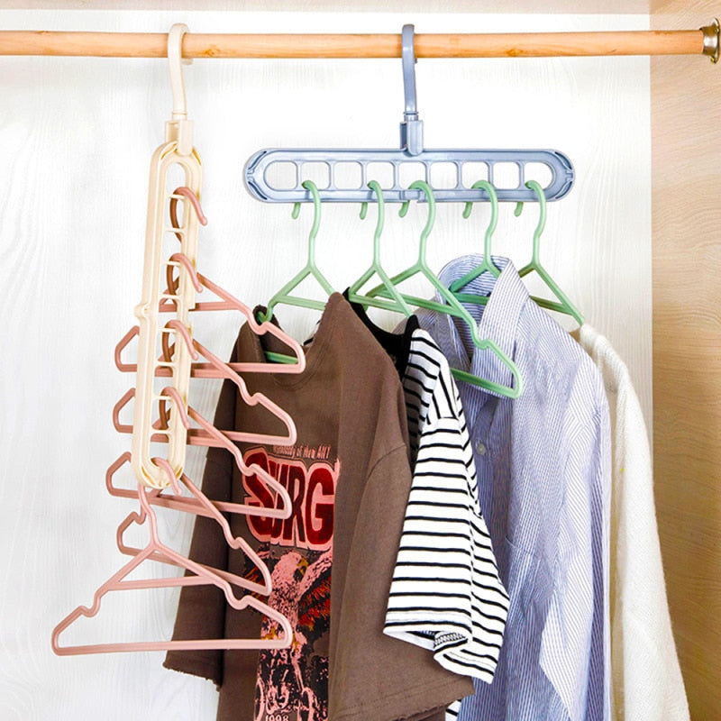 Nine® - Multi-Port Clothes Hanger
