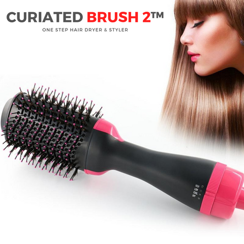 Curiated Brush 2™ One Step Hair Dryer & Styler