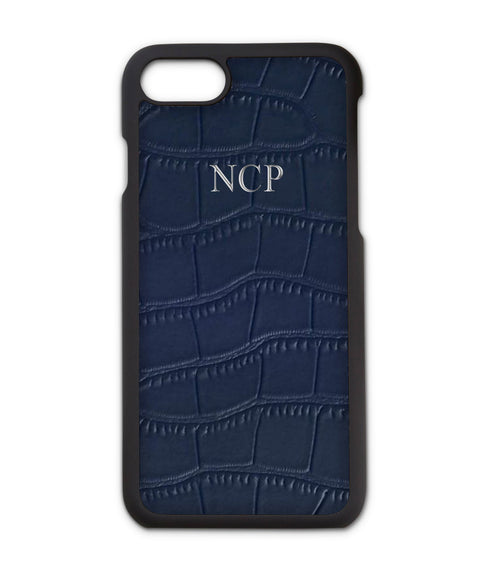 Croc Leather Embossed Phone Case