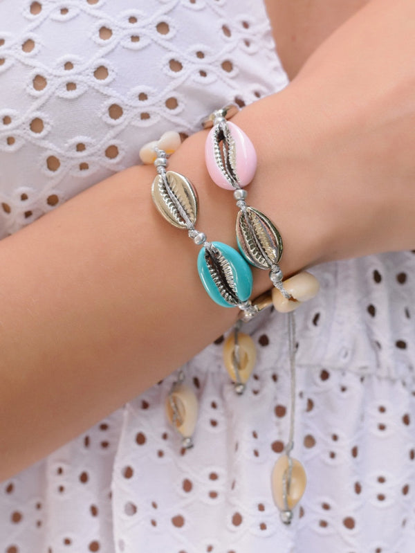 Color Shell Bracelets