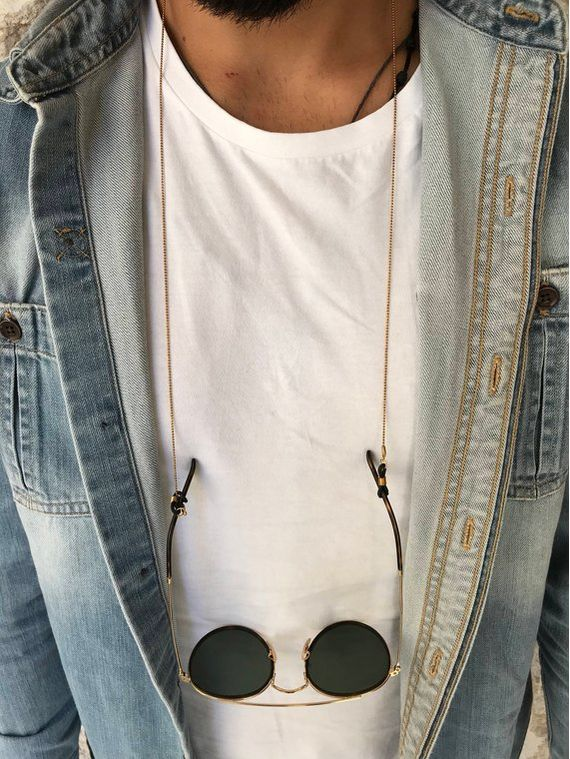 Metal Sunglass Chain