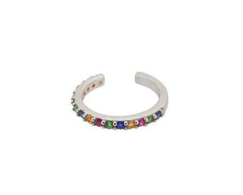 Rainbow Fake it Earring