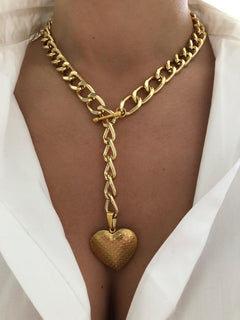 My heart skips a beat Necklace