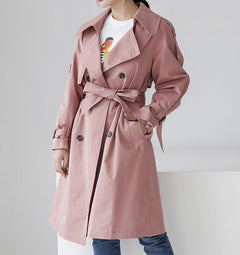 Rose Trenchcoat