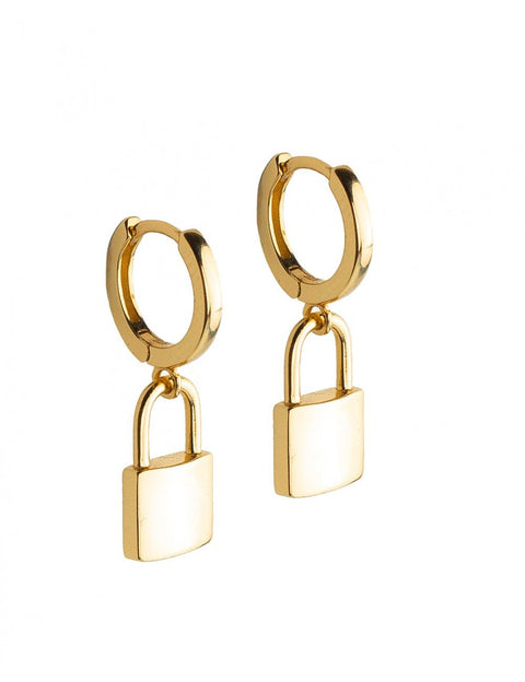 Lock Love Earrings