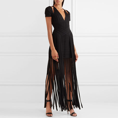 Long Vestitos Evening Dress