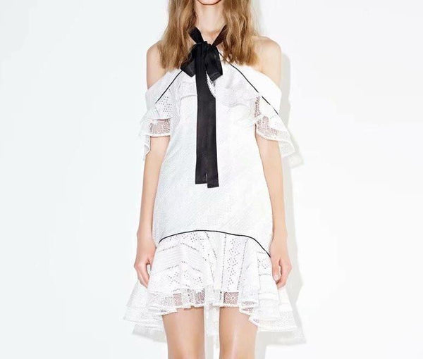 Tie this up Lace Dress