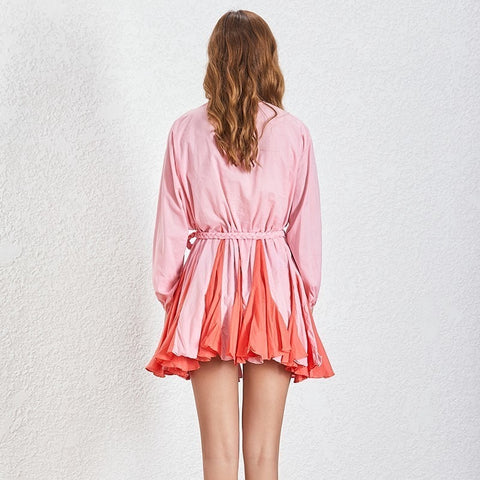 Sally Double Pink Dress