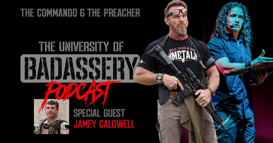 Episode 6 with Jamey Caldwell (Special Forces Vet)
