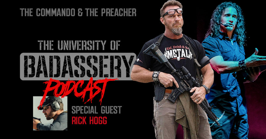 Episode 8 with Rick Hogg (Special Forces Vet)