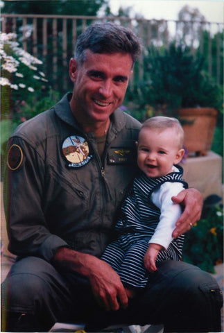 Infant Jack Ryan with Father