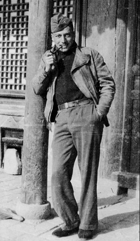 Arthur Chin in China WWII