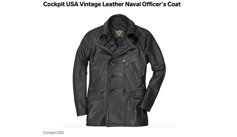 Vintage Naval Officer's Coat