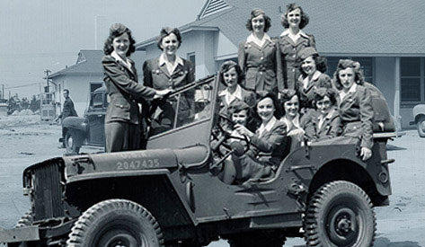Photo of the Women's Air Force Service Pilots- 1940's