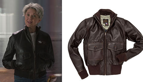 Annette Bening wearing the Amelia Jacket W21G001