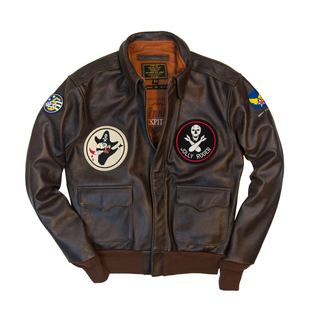 40th Anniversary Bottoms Up A-2 Pinup Jacket