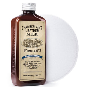 Leather Milk® Water Protectant No.3 6oz w pad
