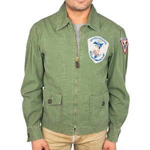7th Fleet Tropical Flight Jacket olive