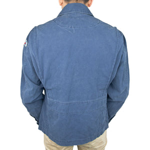 7th Fleet Tropical Flight Jacket navy back