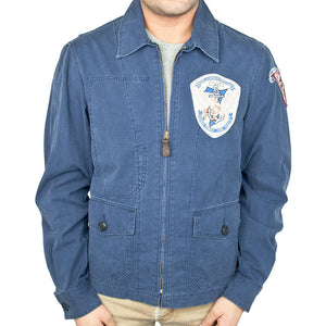 7th Fleet Tropical Flight Jacket navy